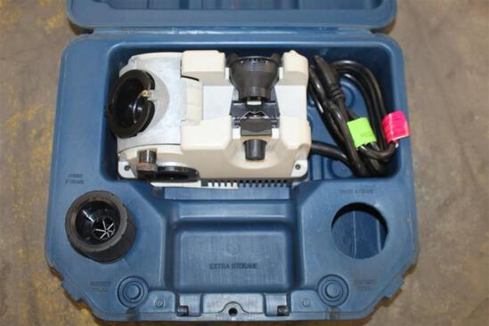 DRILL DOCTOR ELECTRIC DRILL BIT SHARPENER W/ CASE