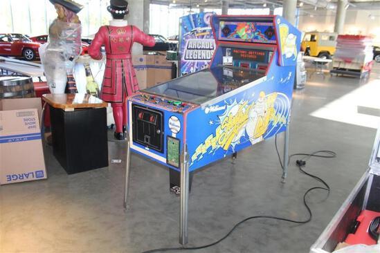 Slugfest Pin Ball Machine
