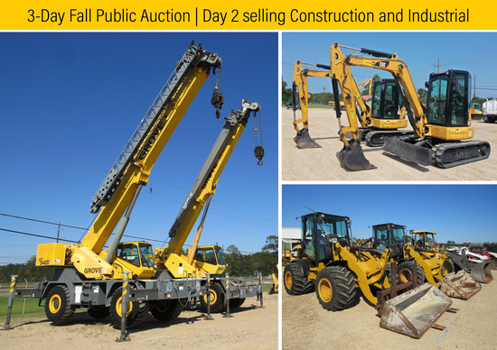 3-Day Fall Auction | Day 2 | Ring 1 | October 15th