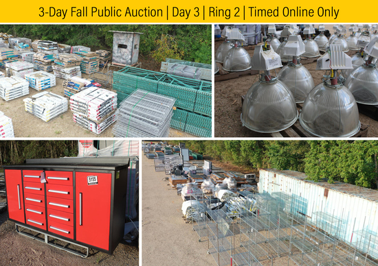 3-Day Fall Auction | Day 3 | Ring 2 Online Only
