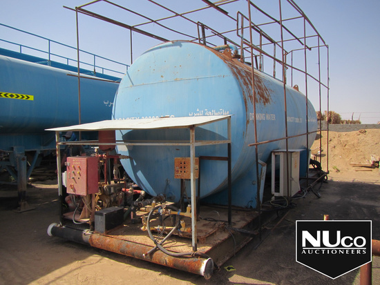 BLUE WATER TANKER SKID, 30,000 LTRS WITH COOLING SYSTEM-OLD (TANK100078)