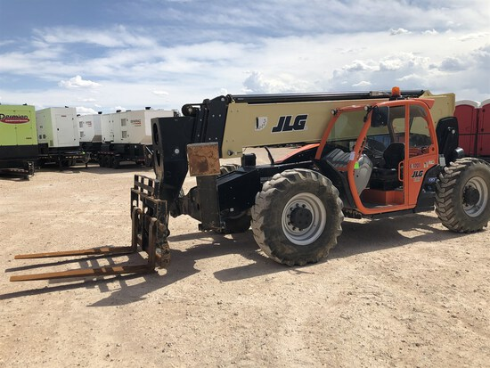 2017 JLG 1055 Telehandler, s/n 160083117, 10,000 Maximum Lift Capacity, 55' Maximum Lift Height,