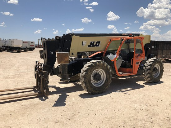 2017 JLG 1055 Telehandler, s/n 160083118, 10,000 Maximum Lift Capacity, 55' Maximum Lift Height,