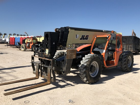 2017 JLG 1055 Telehandler, s/n 160083316, 10,000 Maximum Lift Capacity, 55' Maximum Lift Height,