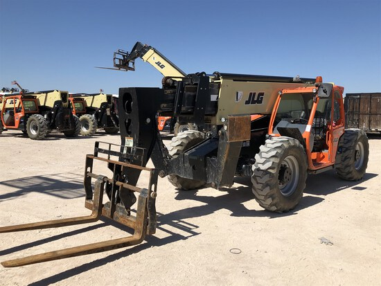 2018 JLG 1055 Telehandler, s/n 160090977, 10,000 Maximum Lift Capacity, 55' Maximum Lift Height,