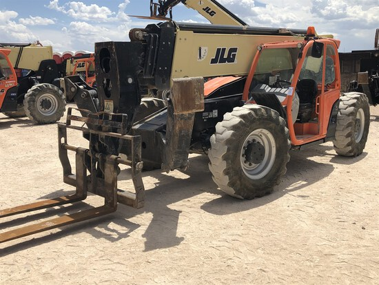 2017 JLG 1055 Telehandler, s/n 160083666, 10,000 Maximum Lift Capacity, 55' Maximum Lift Height,