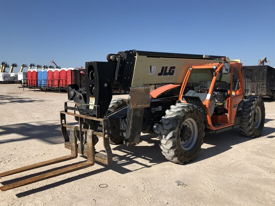 2018 JLG 1055 Telehandler, s/n 160083882, 10,000 Maximum Lift Capacity, 55' Maximum Lift Height,