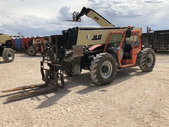 2018 JLG 1055 Telehandler, s/n 160083884, 10,000 Maximum Lift Capacity, 55' Maximum Lift Height,