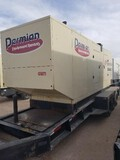2001 INGERSOLL RAND G500 Portable Power Generator, VIN TR224117, 500KVA/400KW, Pintle Style Hitch, 3