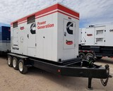 2000 CUMMINS 438 KVA/ 350KW Portable Power Generator, VIN 16MPF1827XD027931, Pintle Hitch Style, 3-A