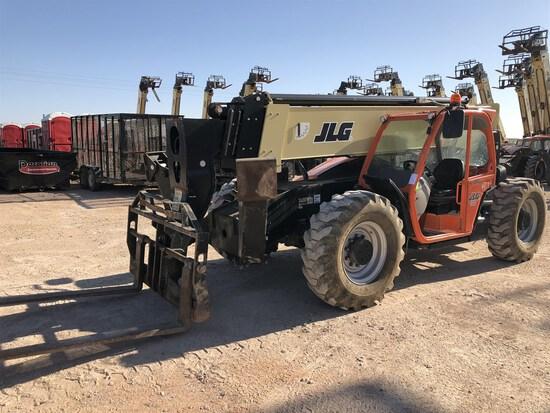2018 JLG 1055 Telehandler, s/n 160085010, 10,000 Lb. Maximum Lift Capacity, 55' Maximum Lift Height,
