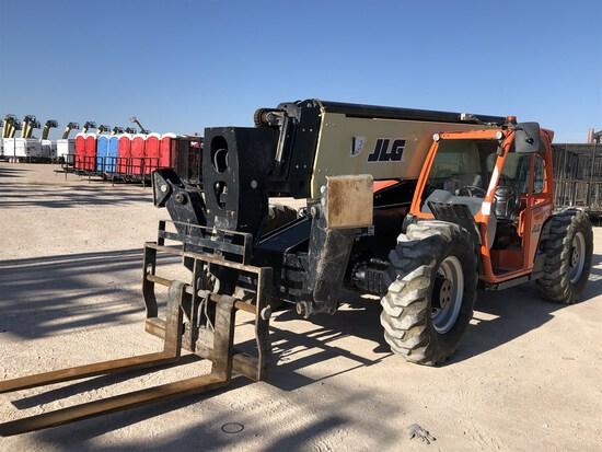 2018 JLG 1055 Telehandler, s/n 160085296, 10,000 Lb. Maximum Lift Capacity, 55' Maximum Lift Height,