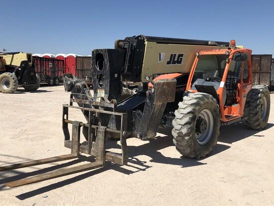 2018 JLG 1055 Telehandler, s/n 160085295 , 10,000 Lb. Maximum Lift Capacity, 55' Maximum Lift Height