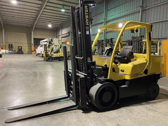 2020 HYSTER S155FT Turbo Diesel Forklift, s/n G024V04364U, 15,000 Lb. Capacity, 2-Stage Mast,