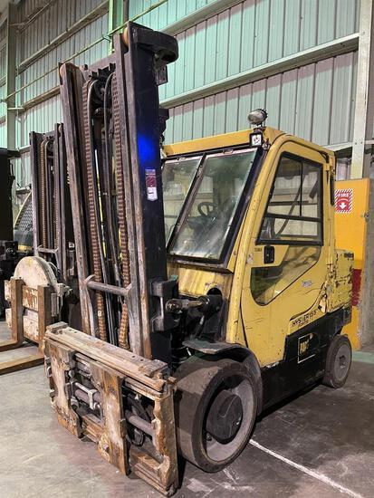 2015 HYSTER S155FT Turbo Diesel Forklift, s/n G024V02204N/SPR2046731-1R0, 15,000 Lb. Capacity, 2-
