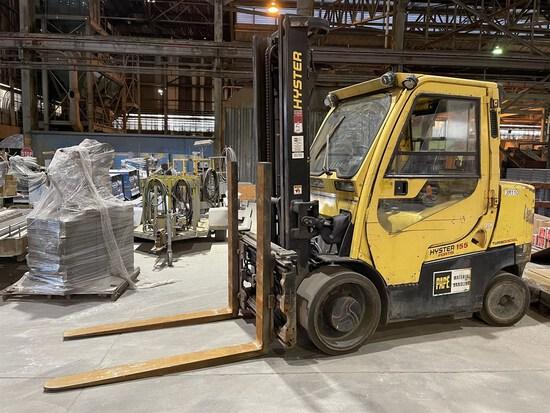 2015 HYSTER S155FT Turbo Diesel Forklift, s/n G024V02210N/SPR2046862-3R0, 15,000 Lb. Capacity, 2-