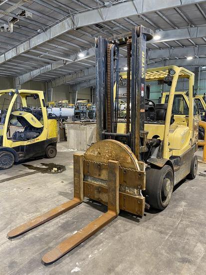 2012 HYSTER S155FT Turbo Diesel Forklift, s/n F024V01574K, 15,000 Lb. Capacity, Two-Stage Mast, Fork