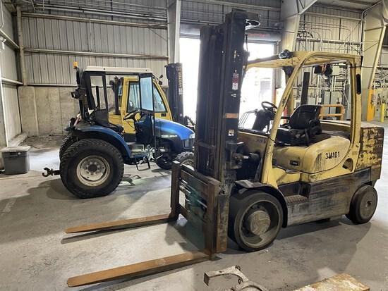 2012 HYSTER S155FT/SFA44-56 Turbo Diesel Forklift, s/n F024V01699K, 15,000 Lb. Capacity, 2-Stage