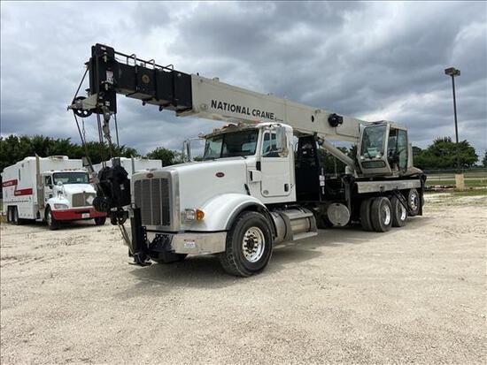 New Peterbilt and Kenworth Fleet Trucks / Cranes