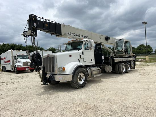 2014 NATIONAL NBT 40 Mobile Swing Truck Crane, s/n 299977, 40 Ton Lift Rating (US), 103' 5 Section