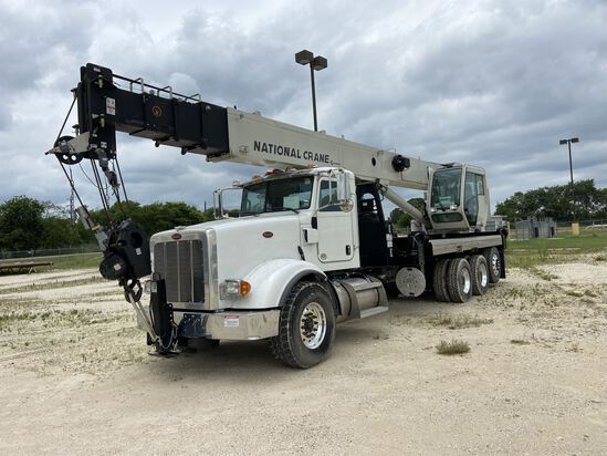 2014 NATIONAL NBT 40 Mobile Swing Truck Crane, s/n 299983, 40 Ton Lift Rating (US), 103' 5 Section