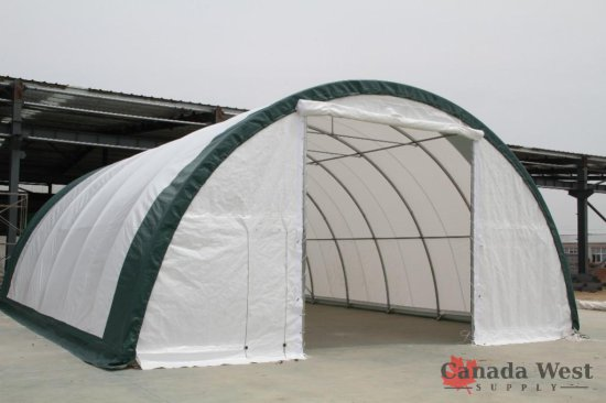 NEW 30X85X15 DOME STORAGE BUILDING S308515R