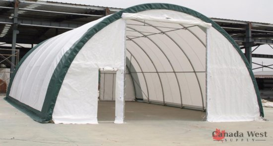 NEW 30X40X15 DOME STORAGE BUILDING S304015R
