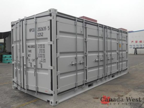 20FT OPEN SIDE SEA CONTAINER 2016