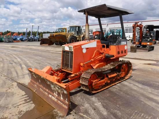 KOMATSU D21A-7E 78643 | Heavy Construction Equipment Dozers