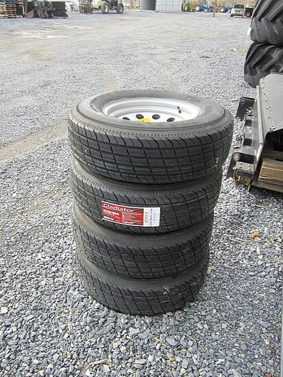 Trailer Tires & Wheels - Set of 4 ' NEW '