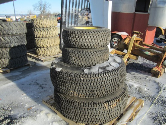 Tractor Tires & Wheels - Set of 4