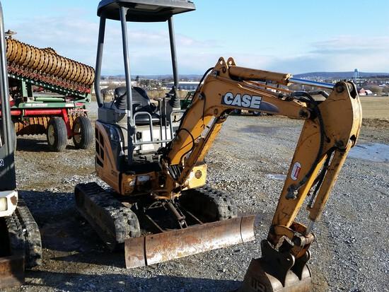 Case CX17B Mini Excavator