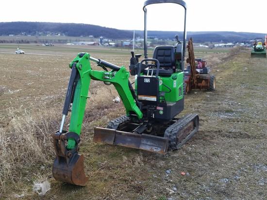 2012 Bobcat 418 Mini Excavator