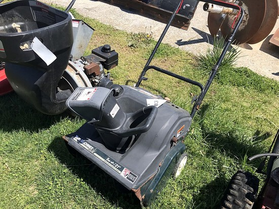 Yard Machines Snow Thrower