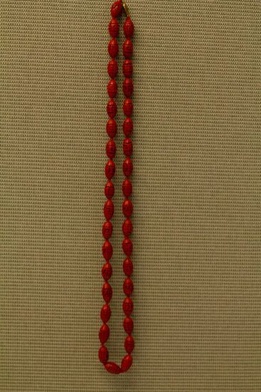 Cinnabar Necklace
