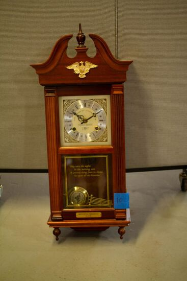 American Eagle Clock Limeted Edition