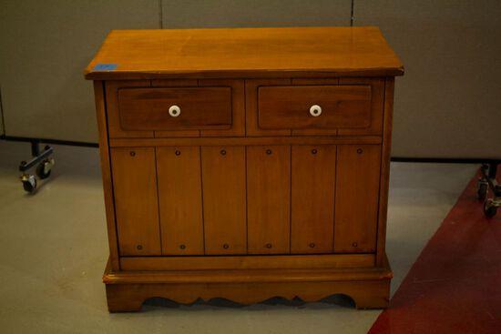 Maple Record Cabinet