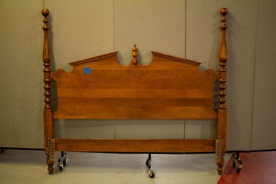 5 Piece Ethan Allen Maple Bed Room Set