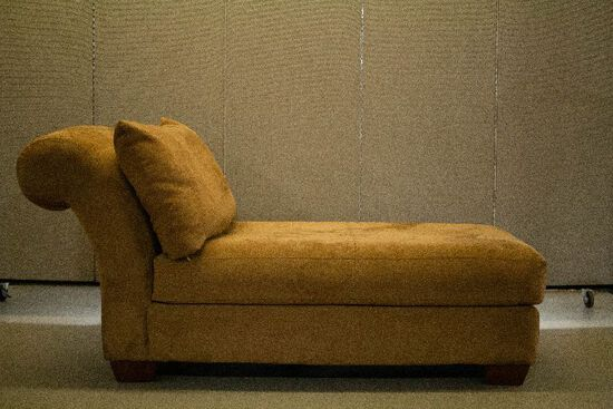 Microsuede Chaise Lounge