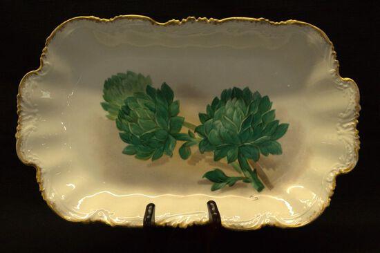 Limoge artichoke Tray