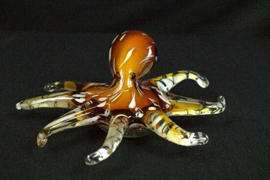 Art Glass Octopus