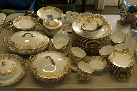 Set of Noritake Handpainted China