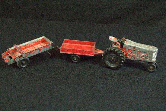Metal Child's Farm Toy