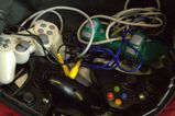 2 Play Station 1 Controllers, 5 Wireless XBOX 360 Controllers