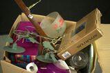 Box of Misc. Glassware & Household Items