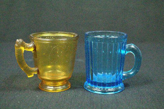 2 Depression Era Cups