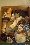 Box of Misc. Miniature Figurines