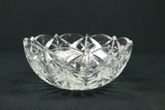 Glass Crystal Bowl