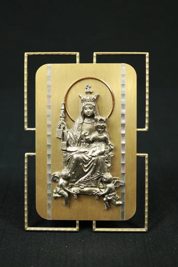 Blessed Mother & Child Plaque