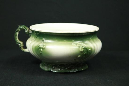 W.H. Tatler Decorating Co. Chamber Pot
